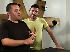 Antonio was more than willing to pay the price and stretched his tight gay hole on a negotiation he won't leave behind gay hunk porn