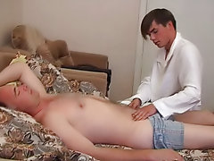Soon both of them were deep engaged in ass-fucking, and at the end the staunch even made his doc shoot its wad on his stomach naked mature men