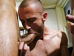 Fucking himself with a bent over-ended dildo, he's giving himself more than his satisfactory share, and everybody loves it naked nude men male hu