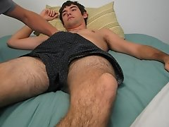 I began to stroke his body, and slide my hands all over his body before kissing him and jerking on his cock masturbating gay males