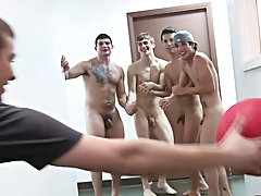 these frat boys had their pledges play it naked and Simon was telling them to do some very questionable things gay group suck