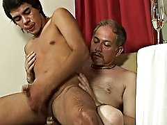 The bronze skinned spoil faced twink made positive that every inch of his perfect man's pecker was nice and hard so his as could be up to filled