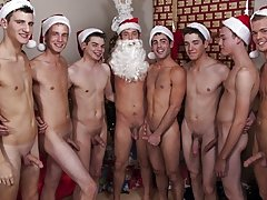 Your Christmas elves are Caleb, Donavan, Justin, Jake, Landon and Came