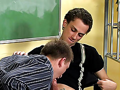 The young teach is obsessed with his student's little twinky body and sweet-scented ass first gay blowjob at Teach Twinks