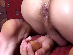 Eggs ass eating male humiliation fetish