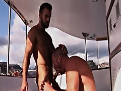 Buff hunk Trojan Rock lends his cock to give Steve Cruz a ride he'll never forget free pics naked gay hunk at Alpha Male Fuckers