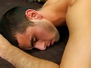 They get into a sexy 69 on the ottoman in advance of Jake bows over the bed, offering up his butt to Phillip's big dick gay anal shower at I&