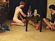 "Trace and William receive together with their new friend Austin for the second installment of ""game night gay porn paysite review twink - at Boy"