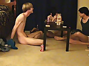 """"""" This is a lengthy movie for you voyeur types who like the idea of watching these guys receive naked, drink, talk and play filthy games straight"""