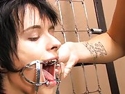 Baretwinks goes all out in this bondage video with Rad and Miles using the dark dungeon gear to the extreme first anal gay