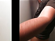 How does guy get calf blowjob and male finger in ass hole pics