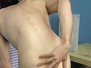 Nicky Six warms up for a hardcore clip with his second solo male masturbation techiqu at Boy Crush!