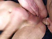 Barley legal twinks eat cum and anal torture gay...