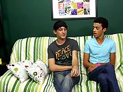 The two start by kissing before Dustin sucks Andy's hard, curved dick gay teen boy twinks at Boy Crush!