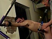 Men in cock ball bondage and male bondage pleasure -...