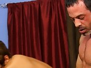 Mike gets on the daybed and Kyler sits back on him, working Mike's knob up his tight hole anal gay fisting at I'm Your Boy Toy