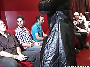 Group of men masturbate together and twink porn...