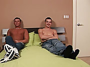 Twink boy caught naked and jerking and gay college...
