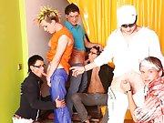 Gay bear group sex and yahoo groups gay photos at Crazy Party Boys