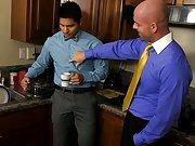 Interracial gay video and interracial gay anal fucking at My Gay Boss