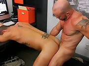Hot gay kissing muscle and hot man with his hard...