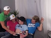 Twink boy spanked at Staxus