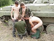Irish bareback teens gay and porn army doctor does...