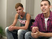 Masculine vs twink hardcore video and gay porn pics teen anal
