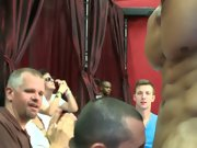 Gay oral group sex and gay men group sex at Sausage...
