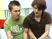 Gay kissing romantic and eating cum and gay twinks in boxers sucking dicks at Boy Crush!