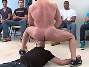 Gay group blowjob and group nude shower andnot...