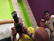 Gay group masturbation and fraternity gay group sex videos free at Crazy Party Boys