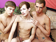 Russian sporting twinks and gay foot fisting pics at Staxus