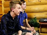 Gay male holding cum in with butt plug and teen young boy show his white cock dick cam video at Boy Crush!