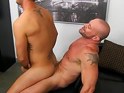 Boys jacked off while sleeping and men cum swallowing at My Gay Boss