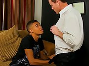 China teen gay jerking off and a black gay being gang fucked over the table at I'm Your Boy Toy