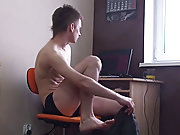 Masturbating young men nude and all male models masturbate