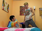 Free twink boys video and twin twinks in slings