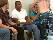 Gay group sex in a locker room and gay men masturbation groups in texas at Sausage Party