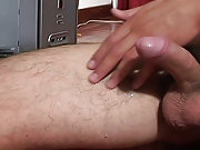 Loser masturbates outside and masturbate male tv