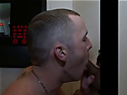 Gay kneeling blowjob cumming and gay blowjobs old men