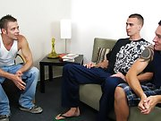 Sexy emo teen in tiny shorts sex tape and irish guy getting blowjob by man at Straight Rent Boys