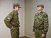 Spanking is a favorite game of this sergeant gay sex...