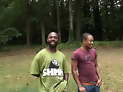 Interracial guys in jeans pics and interracial licking sucking