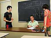 And when it is Kyler's turn, Drake not quite makes the petite chap scream gay long twink at Teach Twinks