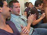 Group gay blowjob and long gay group sex at Sausage...