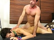 After riding Giovanni hard, Mike Manchester pulls out and cums all over the boy's face free gay hardcore galleries at Bang Me Sugar Daddy
