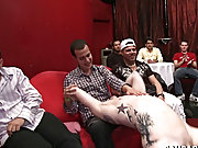 Korean male group masturbation and hot gay blowjob clips tumbler at Sausage Party