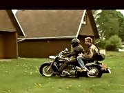 The motorcyclist is in for a big adventure as the mate takes his humongous cock bareback inside him gay twinks bdsm