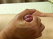 Hot guys sucking and cum masturbating and...